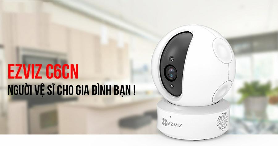 camera Wifi quay quét EZVIZ C6CN-720P