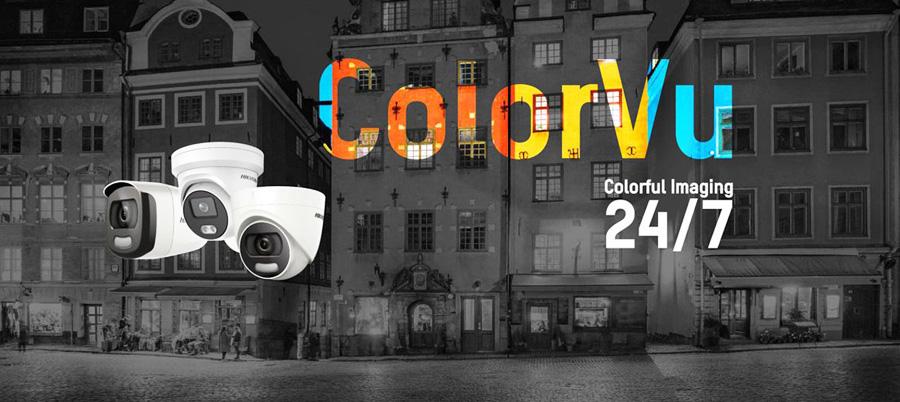 Camera ColorVu - Hỗ trợ Ghi & xem hình ảnh có màu cả ngày & đêm rõ nét