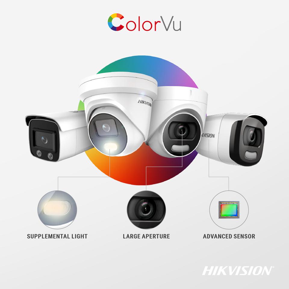 Camera có màu ban đêm - Camera ColorVu của Hikvision
