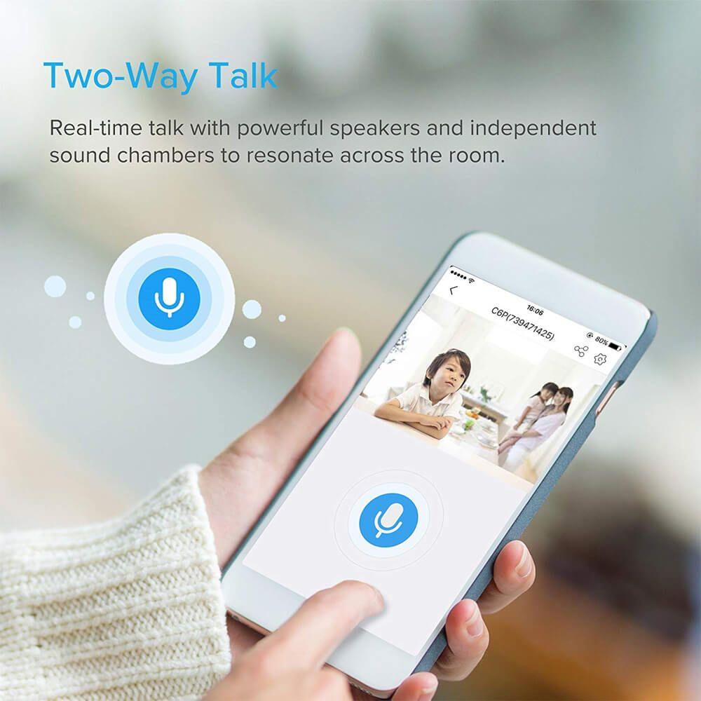 Công nghệ Two Way Talk - Đàm thoại 2 chiều trên camera quan sát