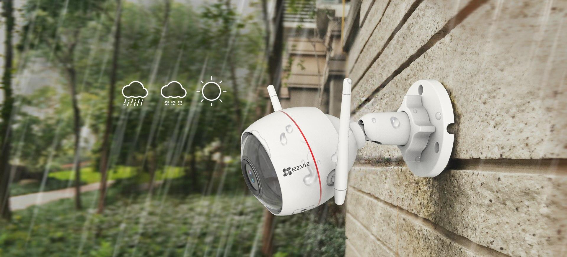 Camera EZVIZ C3W 1080P hỗ trợ chống nước IP66