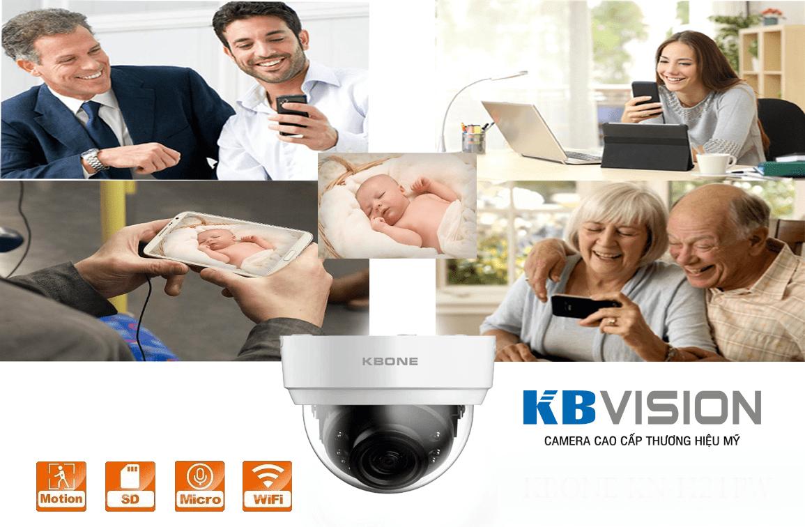 Ưu điểm camera IP KBONE KN-2002WN