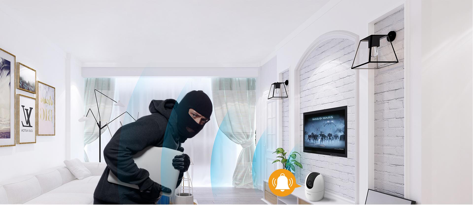 tích hợp báo trộm