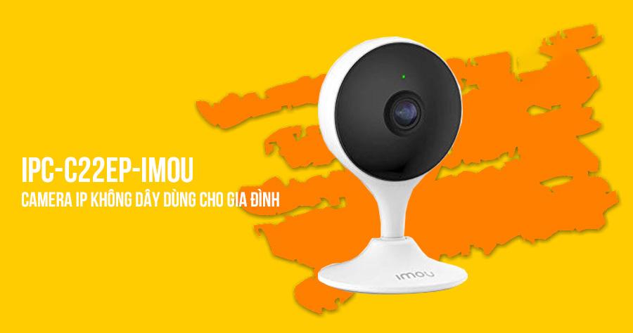 Camera IP dùng cho gia đình IPC-C22EP-IMOU (IMOU CUE 2)