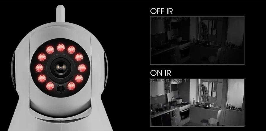 Camera IR hay cảm biến IR được xem là một bước tiến lớn trong công nghệ thu hình và điều khiển thiết bị, nhờ công nghệ IR trên camera đã giúp cho nhiều camera thu hình hoạt động tốt vào ban đêm