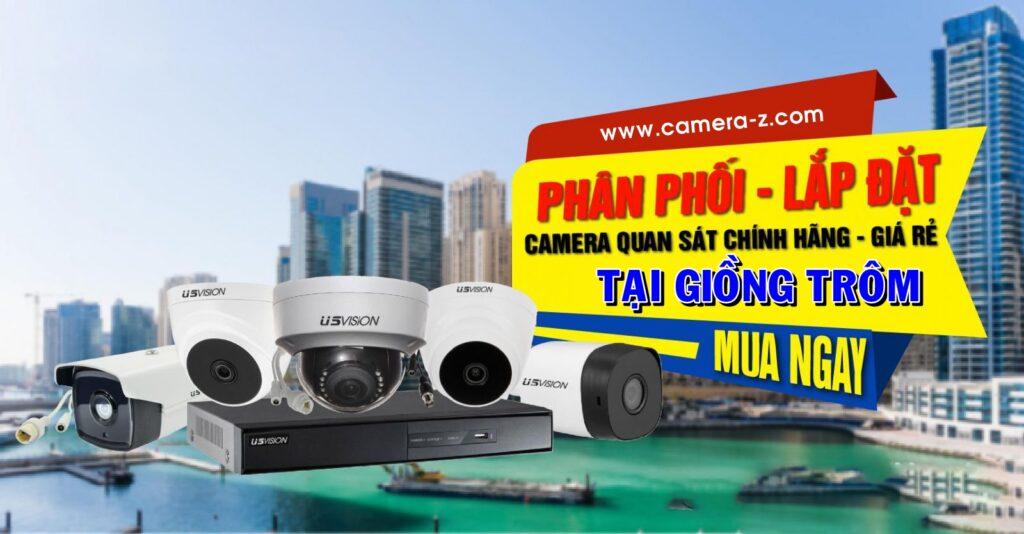 Báo giá lắp đặt camera trọn bộ có dây tại huyện Giồng trôm, Bến Tre