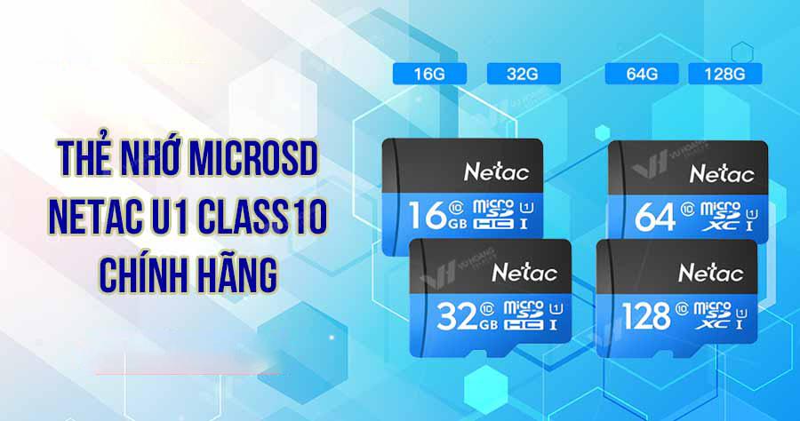 Thẻ nhớ Netac chính hãng giá tốt tại camera-z.com