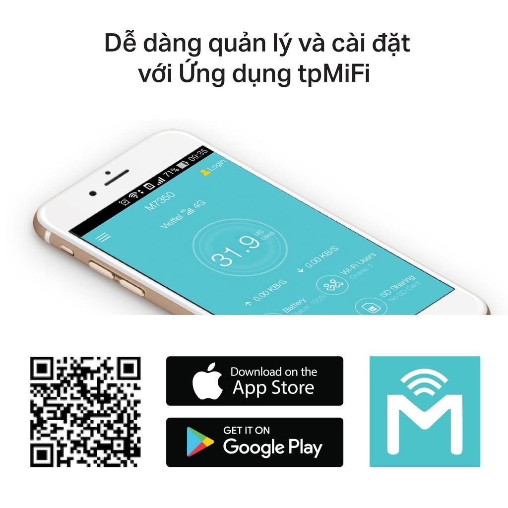 Ứng dụng tpMifi trên điện thoại thông minh Android & iOS