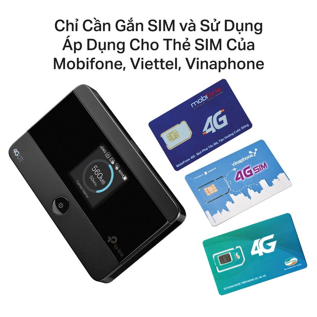 Chỉ cần lắp sim 3G/4G (Mobifone, Vinaphone, Viettel, Vietnamobile) vào là có thể sử dụng thiết bị ngay