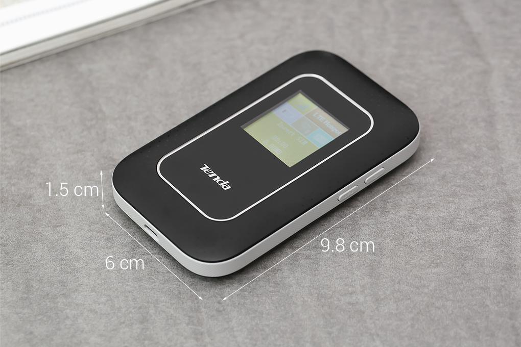 Bộ Phát Wifi Di Động 4G LTE Tenda 4G185 Đen