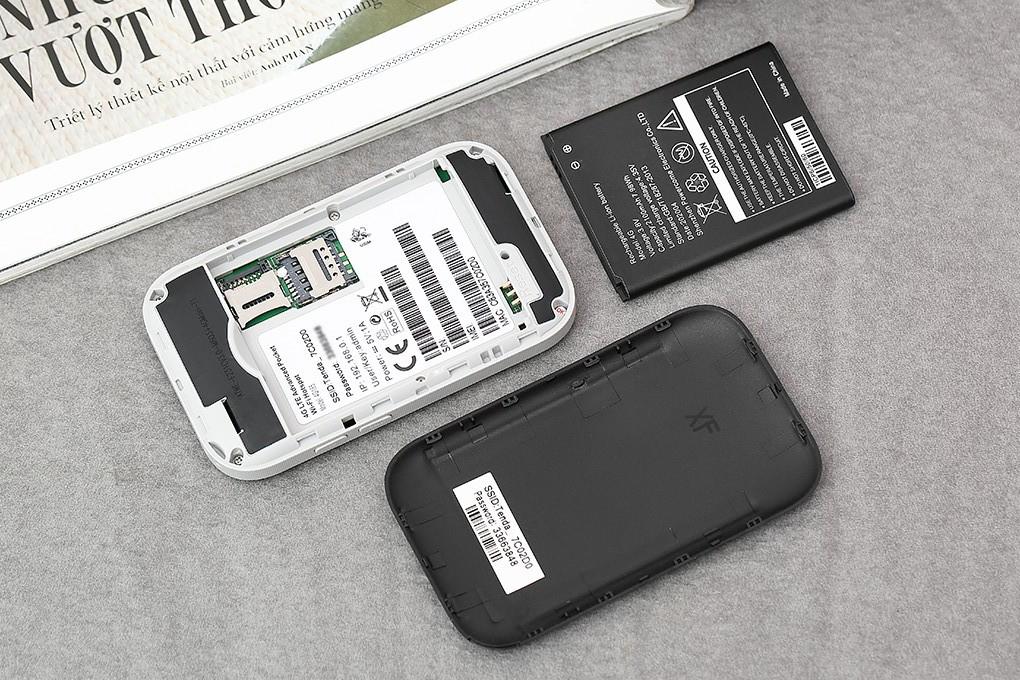 dung luong pin của bộ phát wifi 4g tenda 4g185 den