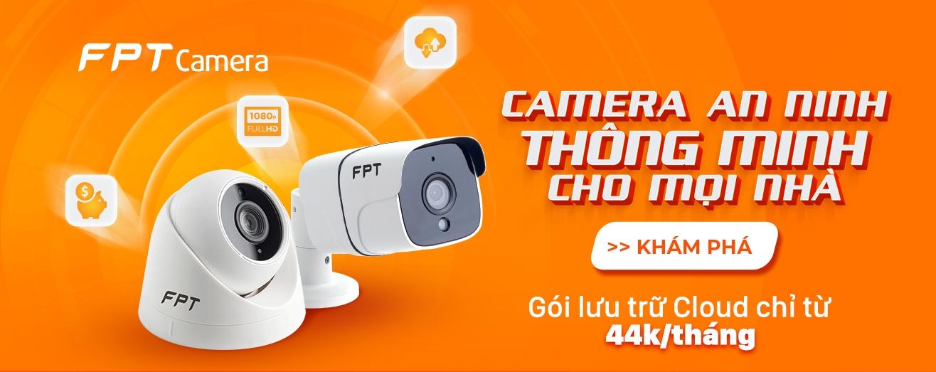 camera fpt lưu trữ đám mây chính hãng tại việt nam